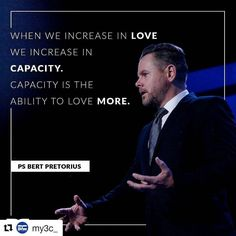 #anewseason When we increase in LOVE we increase in CAPACITY. Capacity is the ability to love MORE.