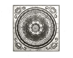CENTER PANEL:#162 PRICE: $24.00 HEIGHT: 24 in. LENGTH: 24 in.. WFNorman. (Option for panel c, center medallion)