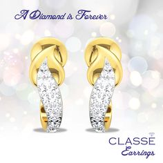 Gold Diamond Earrings, Jewels, Collection, Jewerly, Gemstones, Fine Jewelry, Gem, Jewelery, Jewelry