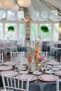Toledo Ohio Modern Grey & Pink Toledo Country Club wedding  by Mary Wyar Photography http://MaryWyar.com