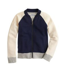 J.Crew - Boys' colorblock track jacket Too cool for school