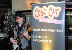 CoolCat schöpft als Alleinunterhalter aus einem breit gefächerten Repertoire, hier an einer Hochzeit in Bern www.alleinunterhalter-coolcat.ch