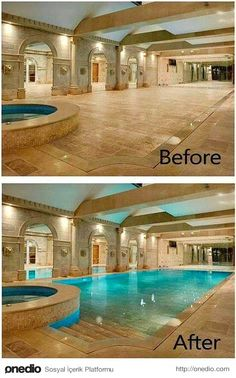 Stock Tank Swimming Pool Ideas, Get Swimming pool designs featuring new swimming pool ideas like glass wall swimming pools, infinity swimming pools, indoor pools and Mid Century Modern Pools. Find and save ideas about Swimming pool designs. Diving Pool, Deep Diving, Indoor Swimming Pools, Indoor Pools In Houses, Lap Swimming, Luxury Swimming Pools, Lap Pools, Backyard Pools, Pool Landscaping