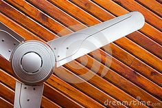 Photo about Ceilling fan on the wooden ceilling. Image of ceiling, design, cooling - 43975740 Tower Fan, Home Lighting, Stock Photos, Ceiling Fans, Cool Stuff, Pictures, Image, Beautiful, Design