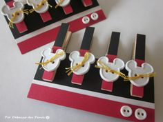 8 Mickey clips, Mickey Favors, Mickey Party, Disney Party, Birthday, Mickey Mouse, Photo Banner, Tags