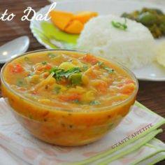 Tomato Dal - Andhra Tomato Pappu