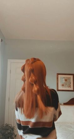 Straight Prom Hair, Prom Hair Down, Straight Hairstyles Prom, Pigtail Braids, Two Braids, Down Hairstyles, Trendy Hairstyles, Braided Half Up Half Down Hair, Braided Prom Hair