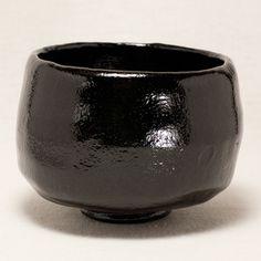 手造り黒楽抹茶碗〔松楽窯〕