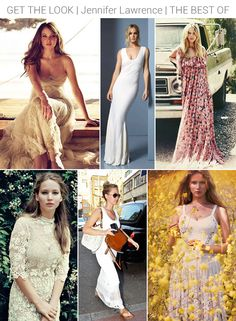 Jennifer Lawrence (Soft Natural) - best looks || Luminous Ethereal, Slavic Ethereal, Mermaid Ethereal, Moon Ethereal, Wild Ethereal, Rose Ethereal