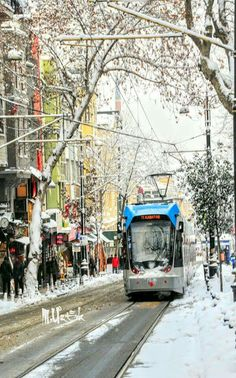 Sultanahmet in snow 2017.  This district in Istanbul is the oldest historical district located in Fatih area.  It was founded on three of the seven hills of current Istanbul by Greeks.  In 657 BC current Sultanahmet territory was an old Greek city known as Byzantium.