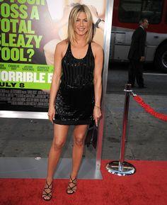 Pin for Later: Jennifer Aniston Est la Reine Incontestée du Total Look Noir 2011