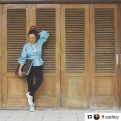 Ka Audrey using Goldy Harry with style  . . #Repost @ff.audrey with @repostapp  Good morning and ready to goo! #morningspirit #ASUSROG #republicofgamers