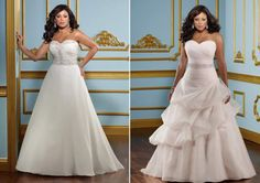 Vestido de noiva ideal para corpo retangular