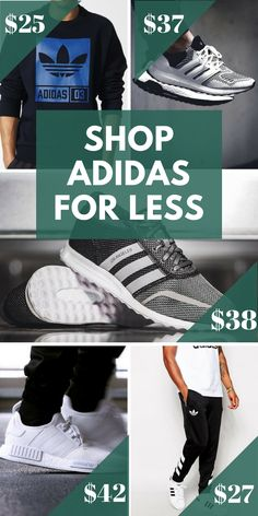 Shop Adidas for less when you install the FREE Poshmark app. Find brand new and pre-loved shoes, tops, pants, and more at up to 70% off. Download today to start taking advantage of unbelievable daily deals!