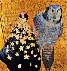 Αθηνά Ελένη Παυλοπούλου Owl, Bird, Painting, Animals, Animales, Animaux, Owls, Birds, Painting Art