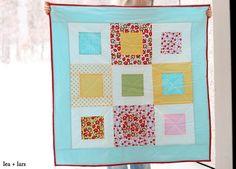 baby quilt by leaandlars, via Flickr