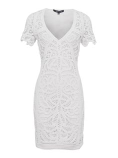 Buy your French Connection Mesi Macrame Lace Jersey Dress online now at House of Fraser. Why not Buy and Collect in-store?