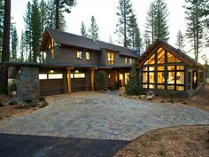 Rustic Architecture Integrates Easily In The Environment