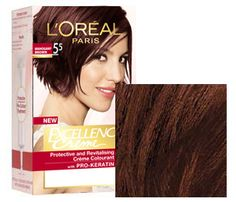 mahogany brown loreal hair color http://www.lorealparis.co.in/hair-colour/all-over-color/excellence/mahogany-brown.aspx
