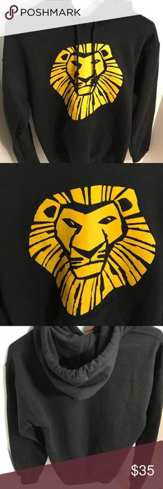 The Lion King Broadway Sweatshirt Adult Small This is in great condition & comes from a smoke free home. It is an adult size small. I would be happy to answer any questions. Disney Tops Sweatshirts & Hoodies