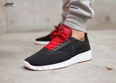Nike SB Paul Rodriguez 9 R / R (Black / Black - Gym Red - White)