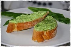 Bärlauchcreme aufs Brot selbstgemacht #Rezept
