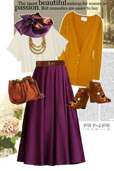 maxi skirt~