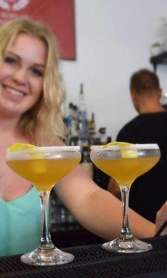 Between The Sheets Cocktail   Ingredients: 1 oz Rémy Martin Cognac/Brandy  1/2 oz Light Rum  1/2 oz Contreau 1 oz Lemon Juice  Garnish: Sugar Rim & Lemon Zest Glass: Chilled Cocktail Ice: None Method: Shake & Fine Strain