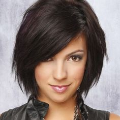 Coupe au carré brune 05 brown bob haircut