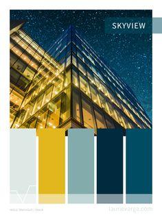 Color Palette - dark blues and golden yellow. Simple colour Tones for interior design, graphic design, logos or websites. Website Color Palette, Website Color Schemes, Dark Color Palette, Blue Color Schemes, Dark Blue Color, Palette Wall, Design Logos, Graphic Design, Simple Colors