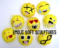 Art with Mrs. Nguyen: Emoji Soft Sculptures (5th)