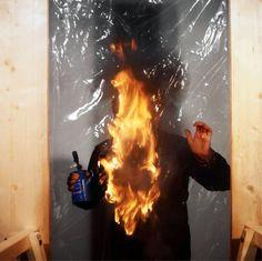 "Aurelio Amendola, Alberto Burri, ""Combustione"" 1976 Falling In Love With Him, I Fall In Love, Alberto Burri, Museums In Nyc, Tumblr, Set Design, Luigi, Photography, Artists"