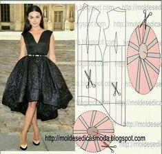 Ideas para hacer un vestido 50's