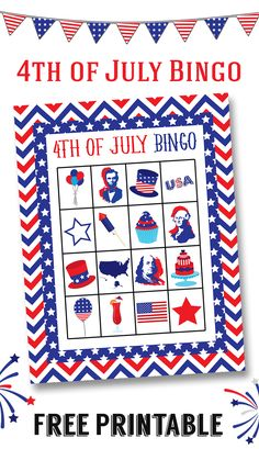 4th of July Bingo -