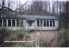 Coal mine camp schoolhouse, Layland, West Virginia (demolished by now)