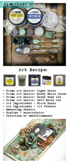 Finnabair: Art Recipe: Tag Full of Memories