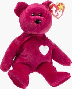 20f80ada1b2 Amazon.com  Ty Beanie Babies Valentino - Bear  Toys   Games