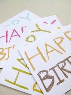 Happy Birthday Greeting Card Mix by Lemon Tree Lane