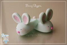 Fondant Bunny Slippers