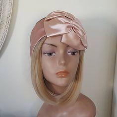Pink bow turban headband, boho chic style, Extra wide headband for women, Fancy velvet headband Halo Headband, Wide Headband, Headband Styles, Turban Headbands, Fascinator Headband, Fabric Headbands, Alice Band, Boho Fashion, Trendy Fashion