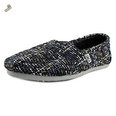 Toms Women's Classic Dark Blue Casual Shoe 10 Women US - Toms sneakers for women (*Amazon Partner-Link)