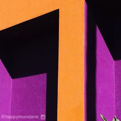 #orange #modern #purple photo by happymundane on Instagram