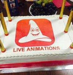 Birthday cake - Live Animations 1st year #birthday #1styear #cake #september #2015 #liveanimations