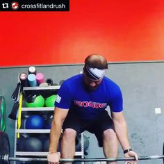 """#Repost @crossfitlandrush with @repostapp.  The LandRush 9:30 crew pulling some monstrous weight from the floor this morning. """"The deadlift is unrivaled in its simplicity & impact while unique in its capacity for increasing head to toe strength"""" - Coach Glassman @crossfitlandrush @crossfit @afish47 @jenerallee23 @mrssimmy35 #crossfitlandrush #deadlifts #okc #piedmont #deercreek #edmond #oklahoma #videooftheday by mrssimmy35"""