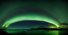 Aurora Borealis - Jökulsárlón, Iceland