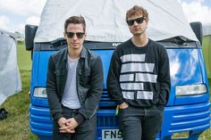 Mark Foster & Isom Innis Glastonbury 2014 Foster The People