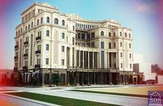 Проект гостиничного комплекса от архитектурное бюро SDS Proekt