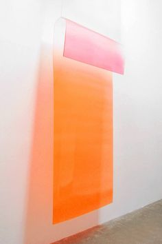 Craig Kauffman Untitled 1969 acrylic lacquer on plastic 94 x 47.25 x 9 in