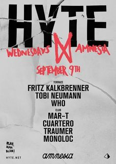 This week's HYTE Ibiza lineup - Special Guest announced