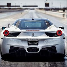 Now that is one sexy ass! - Ferrari 458 italia #carporn #ass